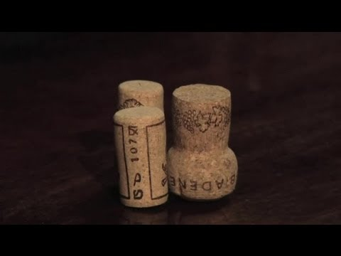 How to Make Wine Stoppers : Wine Topics