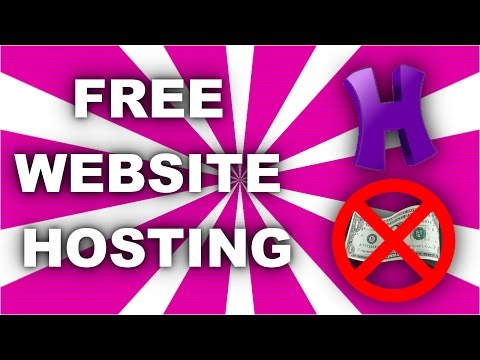 FREE web hosting + FREE domain: How to set it up! (2017)