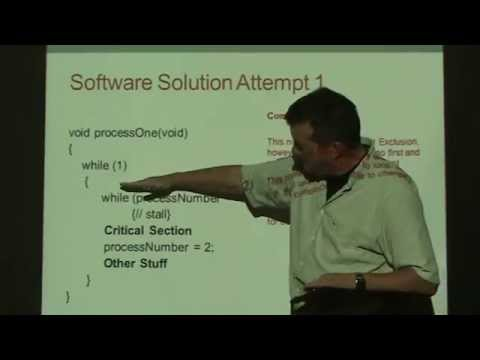 Critical Section (Software Solutions)