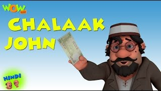 Chalaak John - Motu Patlu in Hindi WITH ENGLISH, SPANISH & FRENCH SUBTITLES