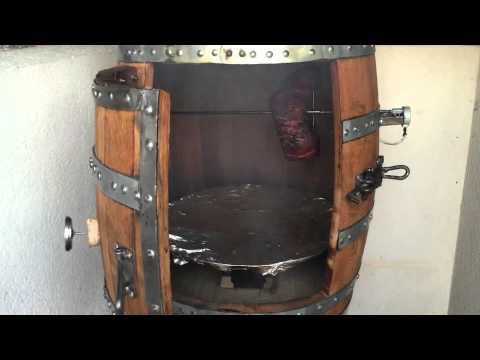 Wine Barrel Wood Smoker
