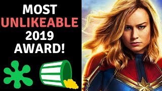 Download Brie Larson Wins MOST Unlikeable 2019 Award! Avengers Cast Proud! Video