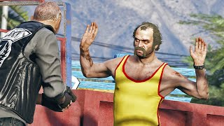 A Day in the Life of Trevor | GTA 5 Action movie
