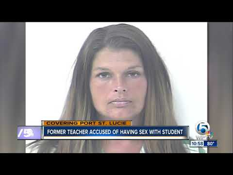 Former Port St. Lucie teacher sentenced 5 years in prison for sex with student