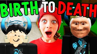 BIRTH TO DEATH - BAD KID - Biggy & The Norris Nuts in Brookhaven Gaming w/ The Norris Nuts