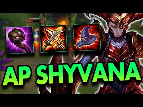 FULL AP SHYVANA MID?! - League of Legends Commentary - Vidly xyz