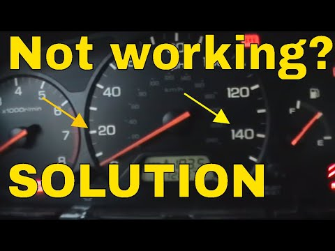 HONDA ILLUMINATION NOT WORKING * HOW TO FIX * instrument cluster lights
