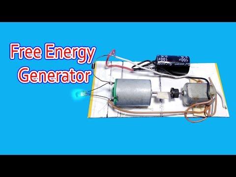 Free Energy Generator | Using Super capacitor