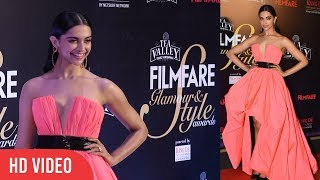Gorgeous Deepika Padukone At Filmfare Glamour & Style Awards 2019