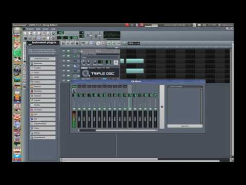 LMMS Trance Song Tutorial Part 1