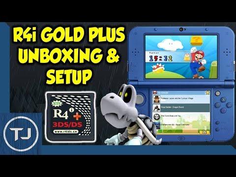 R4i Gold Plus Review & Setup! (DS/DSi/3DS/2DS) 2018!