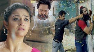 Chiyan Vikram Saves Keerthy Suresh From Villans | Telugu Action Movies Scenes | Movie Masti