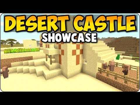 Minecraft Xbox 360 & PS3 Rare Village Desert Temple - Seed Showcase/ Review PS4, Xbox One Edition