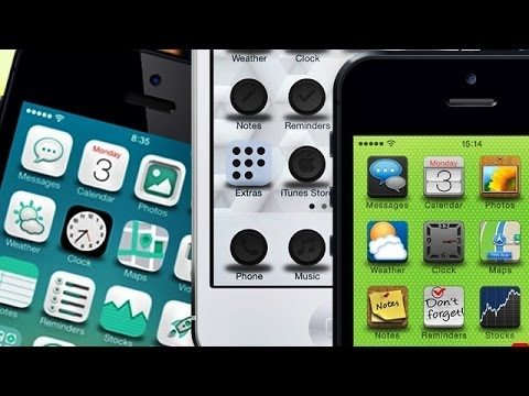 TOP 10 iOS 7 Winterboard Themes - Part 3
