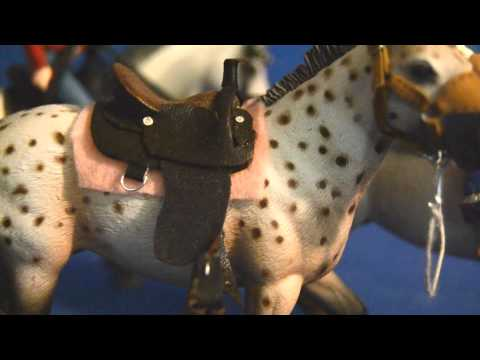 Handmade Schleich western tack!! And a shoutout!