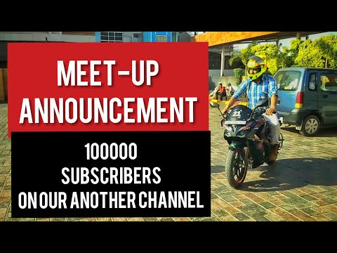 Meet-up Plan | 1,00,000 Subscribers On Our Another Channel