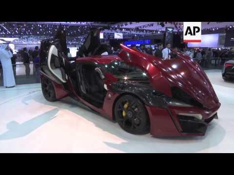 Super car unveiled at Dubai Motor Show