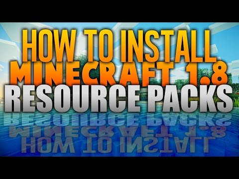 How To Install A Resource Pack Minecraft 1.8 ( Best Minecraft 1.8 Texture Pack Tutorial )