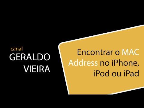 Encontrar MAC Address no iPhone, iPad ou iPod