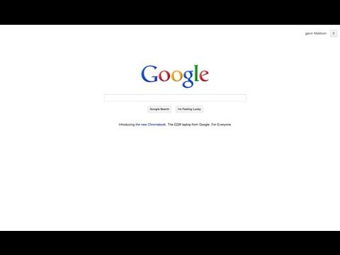 HOW DO I SET MY HOME PAGE TO GOOGLE IN CHROME BROWSER