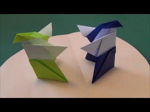 「力士」折り紙