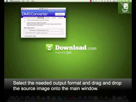 DMGConverter - Create and convert DMG disk images - Download Video Previews
