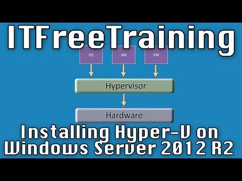 Installing Hyper-V on Windows Server 2012 R2