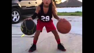 6 YEAR OLD GIRL IS THE NEXT STEPH CURRY!   Shot Science Basketball  Facebook