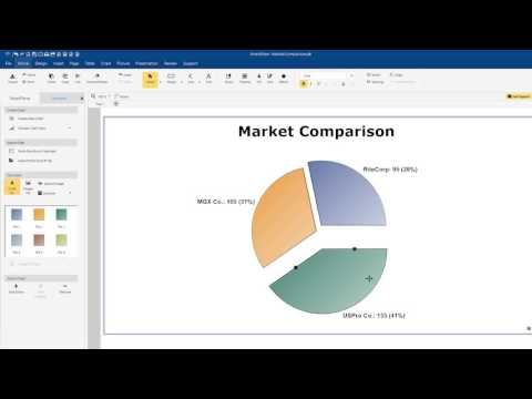 How to Create Charts & Graphs with SmartDraw for Windows