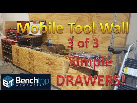 Tool Wall drawers