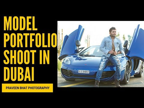 Male Model Portfolio Shoot In Dubai by Top Indian Fashion Photographer | Praveen Bhat