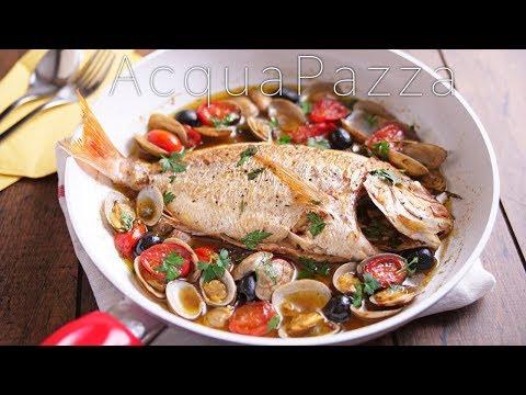 【Italian】アクアパッツァ 魚介の旨味たっぷりのイタリアン ~ acqua pazza ~ 【料理レシピはParty Kitchen🎉】