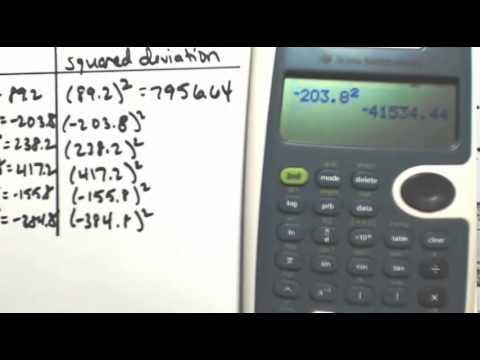 Standard Deviation 2