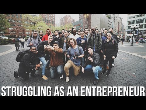THE TRUTH ABOUT STRUGGLING AS AN ENTREPRENEUR! NYC MEET-UP!
