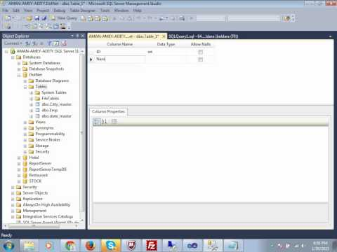 Auto Generated / Identity Column in MS SQL Server table Confirm Study Tutorials