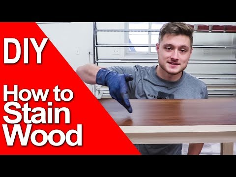 How to Stain Wood | BASIC FINISHING & TIPS