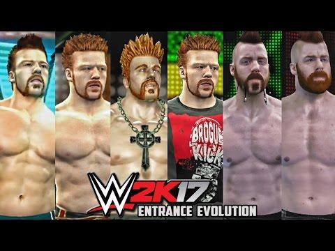 WWE 2K17 - Sheamus Entrance Evolution! ( Smackdown vs Raw 2011 To WWE 2K17 )