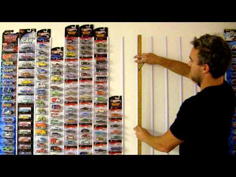 How to display Hot Wheels and diecast