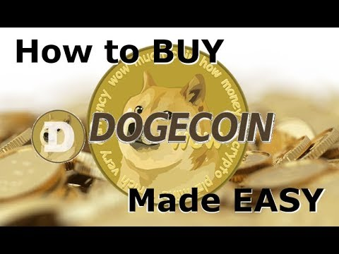 How to buy Dogecoin - The easiest way to BUY DOGECOIN!