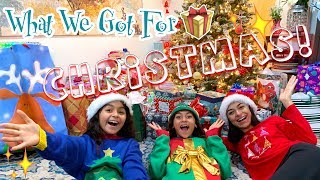 What We Got For Christmas Haul 2018 // GEM Sisters