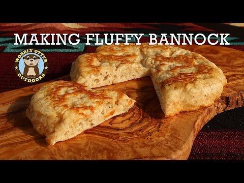 Making Fluffy Bannock