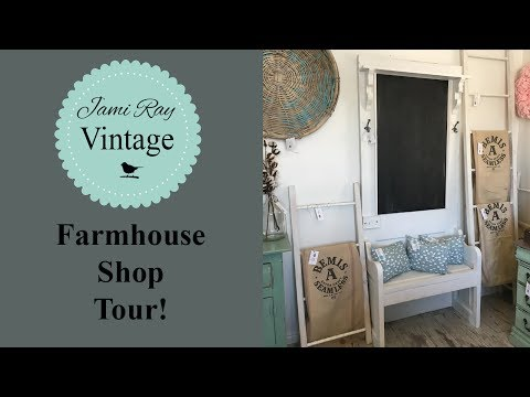 Farmhouse Shop Tour!