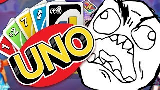 THE GAME THAT WILL MAKE ANYONE RAGE!? - UNO