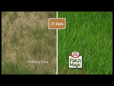 Scotts Patch Magic Television Commercial – grow a beautiful green lawn