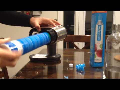 How to install Soda Stream cylinder?