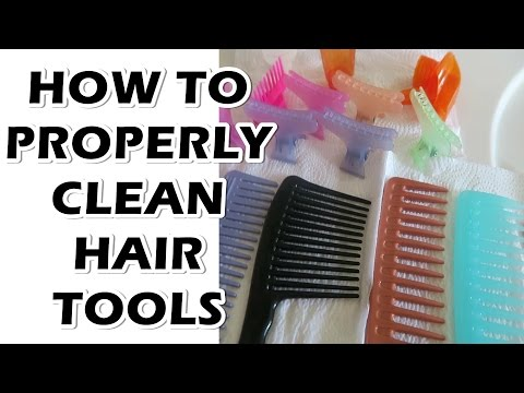 How To Properly Clean Your Hair Styling Tools
