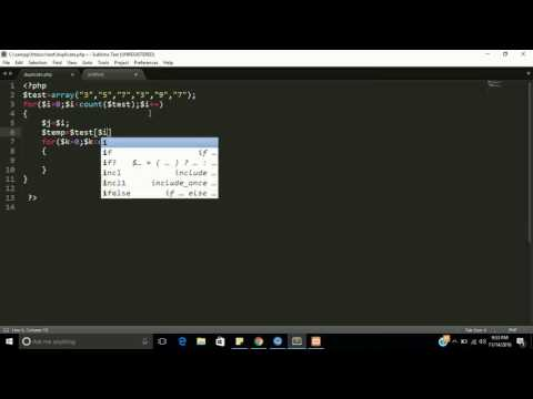 Remove duplicate value in php array manually | learn php step by step | DSA PHP