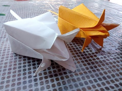 Origami Lotus Flower || How to make lotus flower with paper || very easy and simple