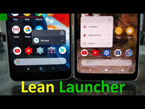 Lean Launcher Review (Best Pixel 2 Launcher for Android on Play Store)
