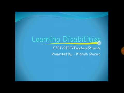 Learning disabilities (Hindi)